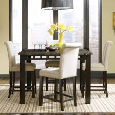 Chair Counter Height Dining Table Wfaux Marble Top Options - Counter height dining table in black