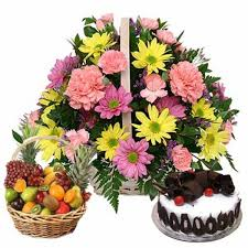 Flower Cakes Send Flowers To India Send Cake To India Buy Flowers Online