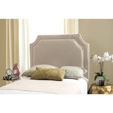 White Twin Headboards by Safavieh Connie Grey U0026 White Twin Headboard Mcr4018g The Home Depot