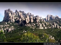 Rugged Mountain Range Spain Rugged Rocks Of The Montserrat Mountain Range Flickr