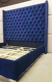 Winged Tufted Headboard by Custom Beds And Headboards Boutique Hotel Beds