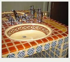 Mexican Tile Bathroom Ideas Colors 11 Best Southwest Bathroom Images On Pinterest Haciendas