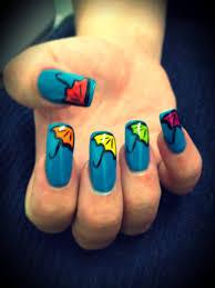 springtime nail art bliss hair u0026 beauty salon