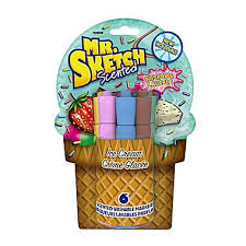 mr sketch ice cream scented washable markers chisel tip