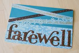 Invitation Cards Handmade - handmade farewell greeting cards creative designs for your