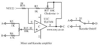 karaoke circuit electronics volts and bits