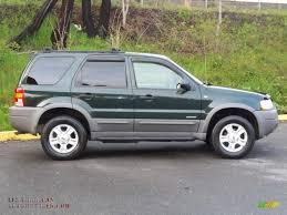 Ford Escape Green - 2001 ford escape xlt v6 4wd in dark highland green metallic photo