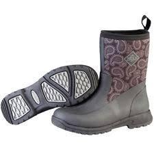 s muck boots size 11 muck boots womens breezy ankle bandana waterproof black bza 0ban