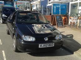 for sale vw golf cabriolet se black 2 ltr petrol 2002 52 plate