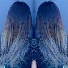 gray blue color formula blue gray sombre hair color modern salon
