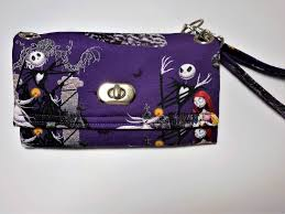 the nightmare before wristlet wallet