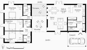 plan de maison plain pied 4 chambres avec garage plan de maison plain pied 4 chambres avec garage nouveau plan maison