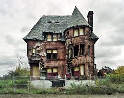 abandoned house detroit creepy