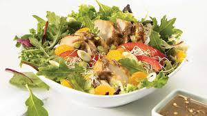 cuisine asiatique recette salade repas de poulet aux arachides recettes iga légumes