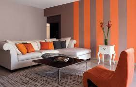 living living room wall colours red orange contemporary room
