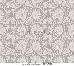 vintage floral wallpaper pattern stock images royalty free images