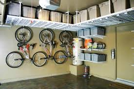 garage overhead storage systems own ceiling corner the better