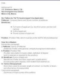 best solutions of sample job offer letter for tn visa for your