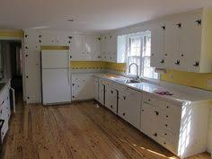 Knotty Pine Cabinets Kitchen Redone Knotty Pine Kitchen Painted Cabinets Look Pretty Good