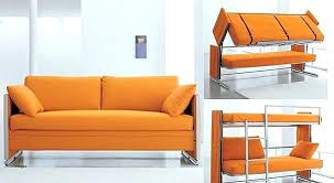 Sofa That Converts Into A Bunk Bed Sofa That Converts Into Bunk Beds Coupe Sofa Turns Into A Comfy