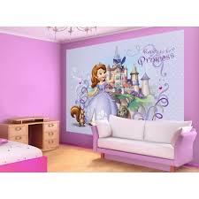chambre princesse sofia murale princesse sofia de disney junior papier peint maxi poster