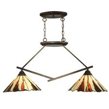 eglo troy 3 3 light matte nickel hanging island fixture 20128a