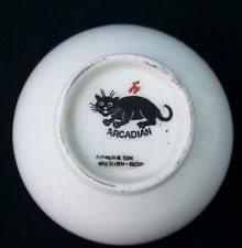 arcadian china black arcadian crested china ebay