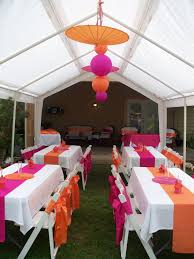 Pink And Gold Baby Shower Decorations by Pink And Orange Baby Shower I Love The Set Up Just Think The