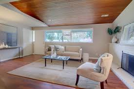 Wood Ceiling Designs Living Room Wood Bean Ceiling Modern Living Room Seattle By Lucas