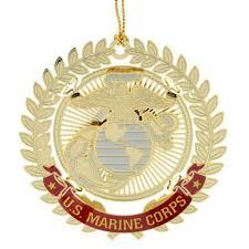 patriotic u s armed services ornaments