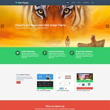 flat product u0026 service free responsive wordpress theme
