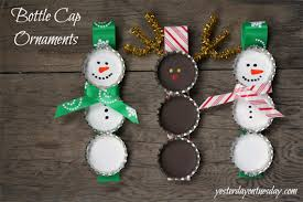 make recycled bottle cap ornaments creative green living