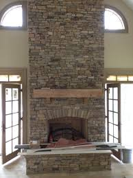 fireplace stone best stacked stone fireplace also veneer home ideas pinterest