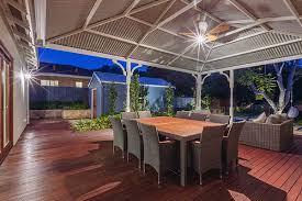 Patio Lighting Perth Nedlands Project Alfresco Outdoor Lighting Outdoor Dining Revell
