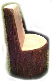Stump Chair Tree Trunk Chairs Seating A E Evans