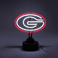 Georgia Bulldog Home Decor by University Of Georgia Bulldogs Neon Light Sign
