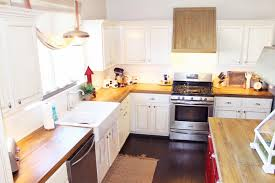 wood countertops kitchen the ragged wren how to faux reclaimed wood counter tops