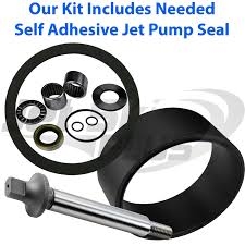 full seadoo jet pump rebuild kit w wear ring seal shaft many sp