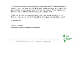 charity donation letter thank you foodbank donations thank you dundonald church thank you