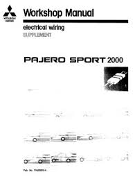 mitsubishi pajero electrical schematic and wiring harness 28