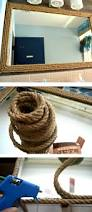 diy nautical mirror decor themrsinglink