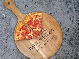 personalized pizza cutter pizza peel