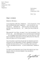 Lettre De Demande De Visa En Anglais lettre d invitation visa schengen mod礙le de lettre