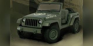 jeep sports car concept jeep wrangler salute concept brand celebrates willys mb u0027s 75th