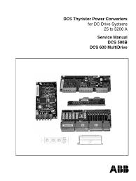 abb dcs600servicemanual direct current fuse electrical