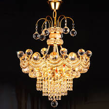 Decorative Light Fixtures by Aliexpress Com Buy Modern Luxury K9 Gold Crystal Chandelier