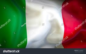 Flag Italy Italy Flag 3d Waving Flag Design Stock Illustration 631599683