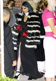 Cruella Vil Halloween Costume Nicole Richie Dresses Cruella Vil Kids 101 Dalmatians