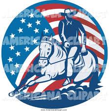 Cowboys Flag Royalty Free Stock Americana Designs Of Cowboys