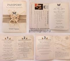 sles of wedding invitations best 25 passport wedding invitations ideas on